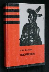 náhled knihy - Tekumseh : vyprávění o boji rudého muže, sepsané podle starých pramenů