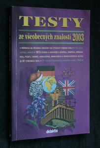 náhled knihy - Testy ze všeobecných znalostí 2003