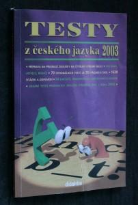 náhled knihy - Testy z českého jazyka 2003