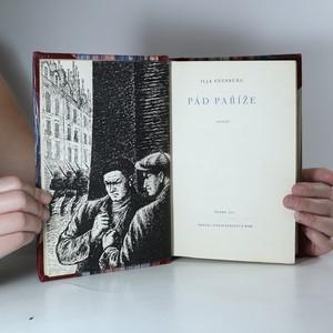 antikvární kniha Pád Paříže, 1951