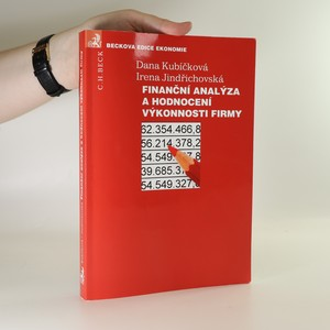 náhled knihy - Finanční analýza a hodnocení výkonnosti firmy