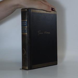 náhled knihy - Friedrich Nietzsche Werke in zwei banden. Erster band