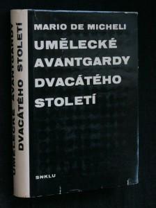 náhled knihy - Umělecké avantgardy dvacátého století