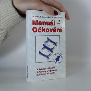 náhled knihy - Manuál očkování 2
