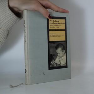 náhled knihy - Psychologie a pedagogika dítěte