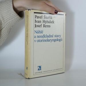 náhled knihy - Náhlé a neodkladné stavy v otorinolaryngologii