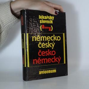 náhled knihy - Lékařský slovník německo-český česko-německý