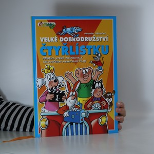 náhled knihy - Velké dobrodružství Čtyřlístku