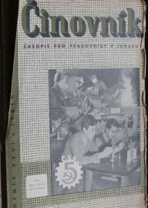 antikvární kniha Činovník 1948-1949, 1948-1949
