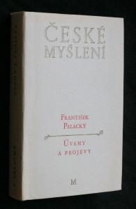 náhled knihy - Úvahy a projevy : z české literatury, historie a politiky