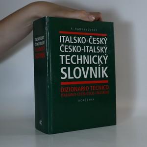 náhled knihy - Italsko-český a česko-italský technický slovník. Dizionario tecnico italiano-ceco e ceco-italiano