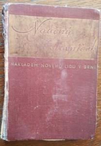 náhled knihy - Naučný slovníček : příruční knížka vysvětlující význam cizích slov a poučující stručně o vědomostech obecných