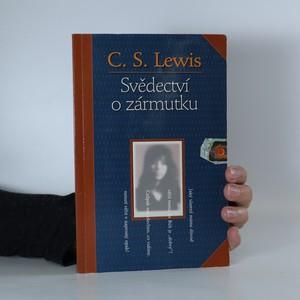 náhled knihy - Svědectví o zármutku