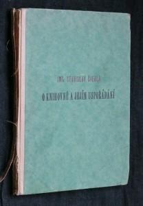 náhled knihy - O knihovně a jejím uspořádání