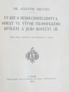 náhled knihy - Úvahy o budoucnosti lidstva : obrat ve vývoji filosofického myšlení a jeho konečný cíl, 1903
