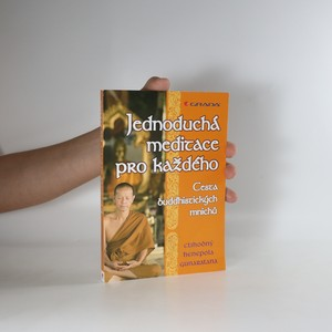 náhled knihy - Jednoduchá meditace pro každého. Cesta buddhistických mnichů