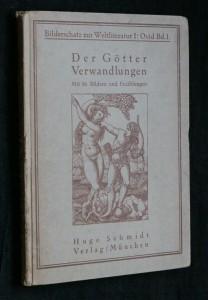 náhled knihy - Der Götter Verwandlungen , neuvedeno