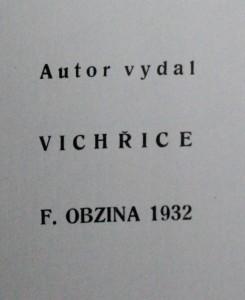 antikvární kniha Slunovrat, 1932