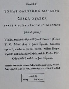 náhled knihy - Česká otázka : snahy a tužby národního obrození, 1969