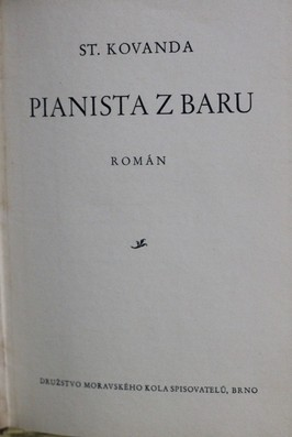 náhled knihy - Pianista z baru : román
