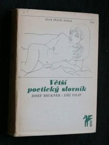 náhled knihy - Větší poetický slovník, 1968