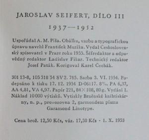 náhled knihy - Dílo III, 1937-1952, 1955
