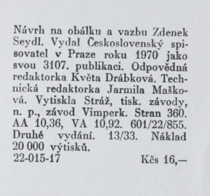 náhled knihy - Studené slunce, 1970