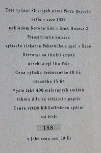 náhled knihy - Slezské písně, 1937