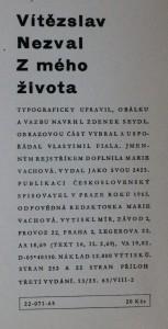náhled knihy - Z mého života, 1965