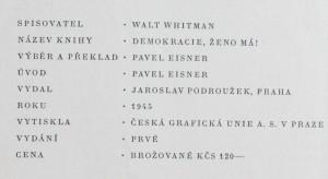 antikvární kniha Demokracie, ženo má!, 1945