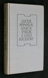 náhled knihy - Výbor z listů Luciliovi, 1969