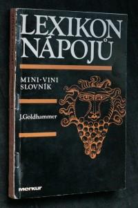 náhled knihy - Lexikon nápojů : mini-vini slovník