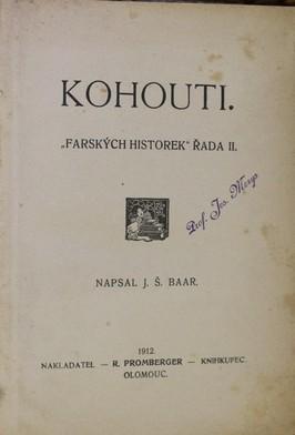 náhled knihy - Kohouti : Farských historek řada II