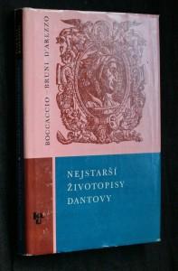 náhled knihy - Nejstarší životopisy Dantovy