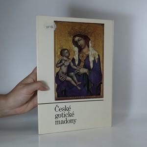 náhled knihy - České gotické madony (15 listů s vyobrazeními a popisky)