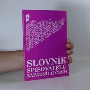 náhled knihy - Slovník spisovatelů západních Čech