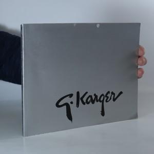 náhled knihy - Jiří Karger. A retrospective