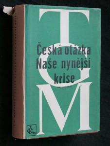 náhled knihy - Česká otázka Naše nynější krise