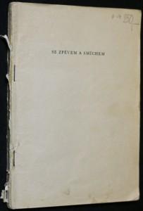 náhled knihy - Se zpěvem a smíchem : sborník písní ROH