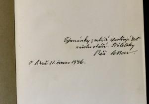 antikvární kniha Hrst studií vzpomínek: Prof. dr. Ant. Beerovi jeho žáci, 1941