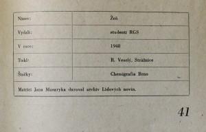 antikvární kniha IV. žeň sborníček literárních prací, 1948