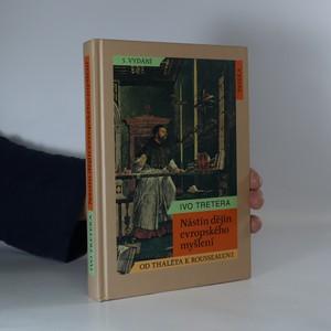 náhled knihy - Nástin dějin evropského myšlení. Od Thaléta k Rousseauovi