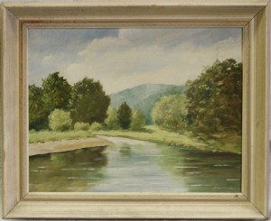 náhled knihy - Hauerland: Řeka
