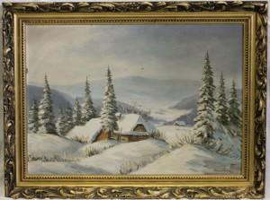 náhled knihy - Hauerland: Zimní krajina