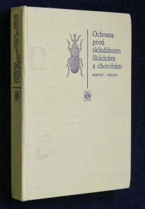 náhled knihy - Ochrana proti skladištním škůdcům a chorobám