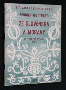náhled knihy - Kytarový repertoir č. 2, Ze Slovenska a Moravy