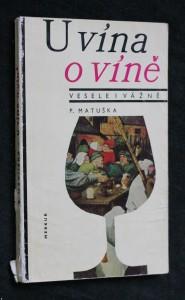náhled knihy - U vína o víně - vesele i vážně