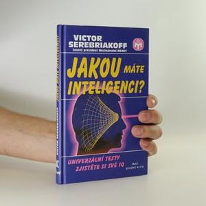 náhled knihy - Jakou máte inteligenci?