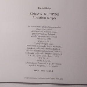 antikvární kniha Zdravá kuchyně. Atraktivní recepty, 1992