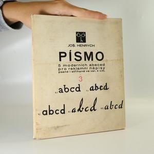náhled knihy - Písmo 5 moderních abeced pro reklamní nápisy psané i střižené ve vel. 4 cm